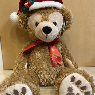 ダッフィー(ダッフィー)のタグ付き ダッフィー Mサイズ クリスマス(ぬいぐるみ)
