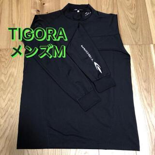 ティゴラ(TIGORA)のTIGORA⭐️長袖ポロシャツ⭐️ゴルフウェア⭐️【メンズM】(ポロシャツ)