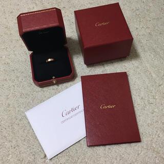 カルティエ(Cartier)の2020年12月購入♡カルティエ ミニラブリング ♡ pg ピンクゴールド 7号(リング(指輪))
