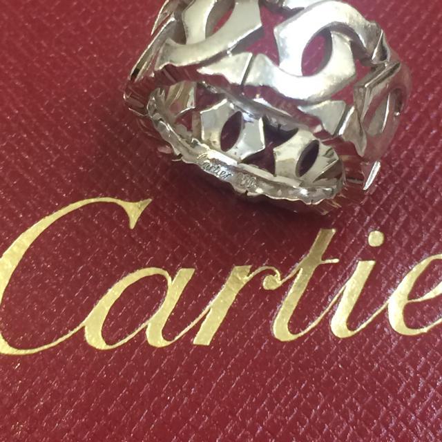Cartier(カルティエ)の正規店購入❤️美品❤️カルティエ アントルラセリング❤️43 3号❤️ピンキー レディースのアクセサリー(リング(指輪))の商品写真