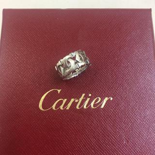 カルティエ(Cartier)の正規店購入❤️美品❤️カルティエ アントルラセリング❤️43 3号❤️ピンキー(リング(指輪))