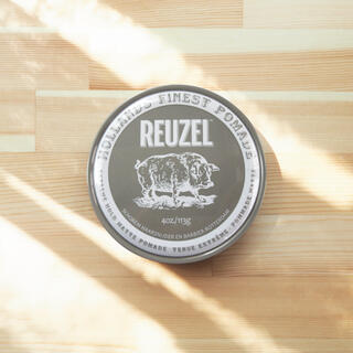 reuzel グレー 新品未開封 1つ ルーゾー 113g ポマード(ヘアワックス/ヘアクリーム)