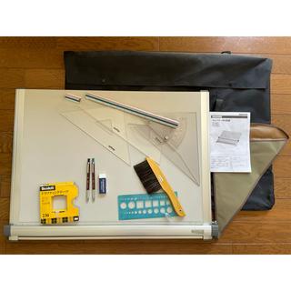 コクヨ - 建築 製図板 平行定規 ケース付き