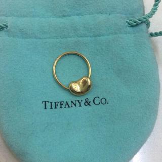 ティファニー(Tiffany & Co.)の正規店購入❤️美品❤️ティファニー K18ビーンズリング★18金イエローゴールド(リング(指輪))