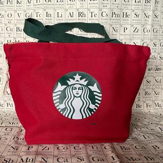 スターバックスコーヒー(Starbucks Coffee)の★スターバックス★ミニハンドバッグ★赤★(ハンドバッグ)