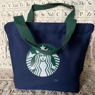 スターバックスコーヒー(Starbucks Coffee)の★スターバックス★ミニハンドバッグ★青★(ハンドバッグ)