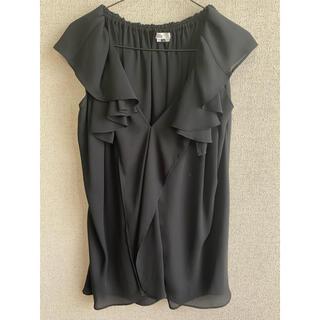 ダブルスタンダードクロージング(DOUBLE STANDARD CLOTHING)のダブルスタンダード シフォンブラウス(シャツ/ブラウス(半袖/袖なし))