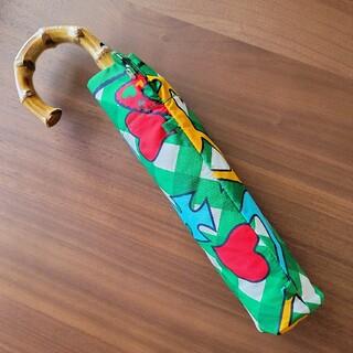 Vivienne Westwood - ヴィヴィアン スカルオーブ 緑 グリーン チェック柄 折り畳み 傘