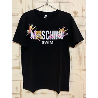 モスキーノ(MOSCHINO)のMOSCHINO モスキーノ メンズTシャツ 黒(Tシャツ/カットソー(半袖/袖なし))