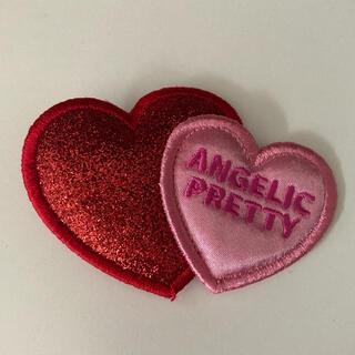 アンジェリックプリティー(Angelic Pretty)のAngelic Pretty ツインハート クリップ ラメ(バレッタ/ヘアクリップ)