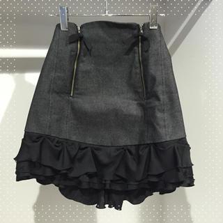 デイシー(deicy)のdeicy♡フリルデニムスカート(ミニスカート)