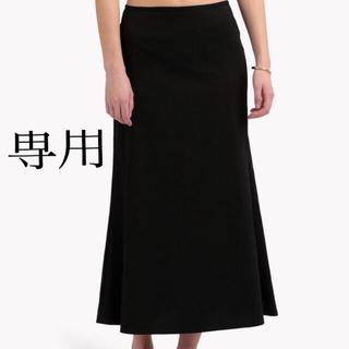 セオリーリュクス(Theory luxe)のtheory luxe  今季 マーメイドスカート 黒 38(ロングスカート)