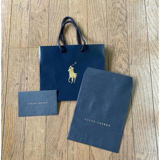ポロラルフローレン(POLO RALPH LAUREN)の'美品'ポロラルフローレンショッパー類(ショップ袋)