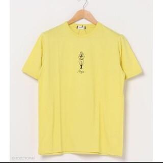 ウィゴー(WEGO)の【WEGO】 WEGO/カラースーベニアTシャツ   忍者 イエロー  メンズ (Tシャツ/カットソー(半袖/袖なし))