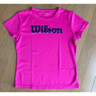 ウィルソン(wilson)のWilson Tシャツ レディース(テニス)
