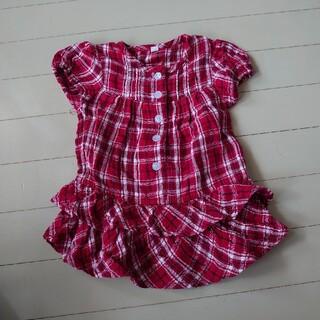 ニシマツヤ(西松屋)の子供服80サイズ(ワンピース)