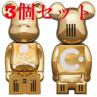 マスターマインドジャパン(mastermind JAPAN)のcleverin BE@RBRICK mastermind JAPAN 3個(その他)