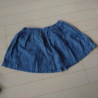 ニシマツヤ(西松屋)の子供スカート110サイズ(スカート)