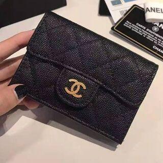 シャネル(CHANEL)のCHANEL シャネル 三つ折り財布(折り財布)