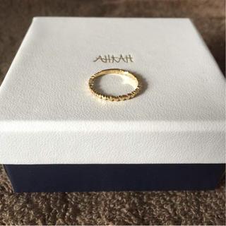 アーカー(AHKAH)のはるにゃぴさま☆AHKAH リング 7号(リング(指輪))