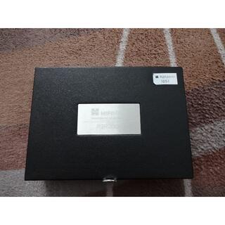 希少 HIFIMAN R2R2000 Black 純正革ケース付き(ポータブルプレーヤー)