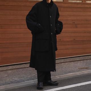 サンシー(SUNSEA)のstein OVER SLEEVE STAND COLLAR COAT(ステンカラーコート)