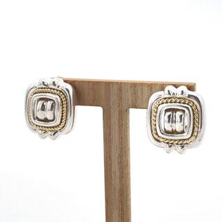 ティファニー(Tiffany & Co.)の極希少 美品 ヴィンテージ ティファニー スクエア コンビ イヤリング BB11(イヤリング)