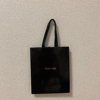 トムフォード(TOM FORD)のトムフォード ショップ袋 紙袋 袋 ブラック(ショップ袋)