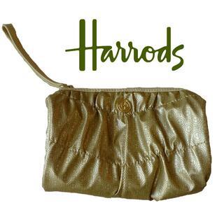 ハロッズ(Harrods)のHarrods ナイロン ポーチ 34cm ★未使用 ハロッズ(ポーチ)