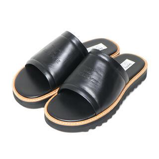 マルタンマルジェラ(Maison Martin Margiela)の交渉可 DAIRIKU 26 サンダル sandal black ダイリク 黒(サンダル)