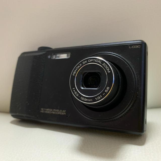 LG Electronics(エルジーエレクトロニクス)の【値下中】【未使用に近い】ドコモ L-03C ブラック スマホ/家電/カメラのスマートフォン/携帯電話(スマートフォン本体)の商品写真