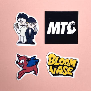 Sloppy dim / bloom vase ステッカー風 コムドット(しおり/ステッカー)