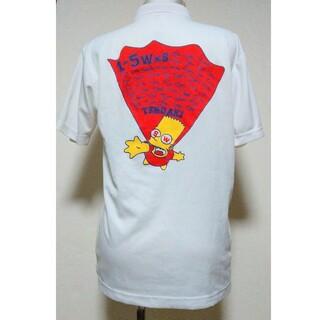 ザシンプソンズ ホワイト ポロシャツ(ポロシャツ)