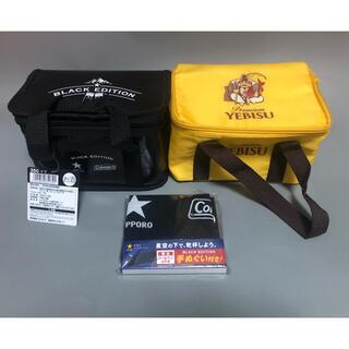 サッポロ(サッポロ)のサッポロ生ビール黒ラベル×コールマン エビス 保冷バッグ 350ml×6缶(アルコールグッズ)