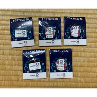 ギャラクシー(Galaxy)のGalaxyピンバッジ 東京オリンピック2020(バッジ/ピンバッジ)