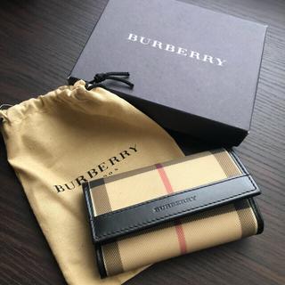 バーバリー(BURBERRY)の★箱付き 良品★BURBERRY ノバチェック 6連キーケース(キーケース)