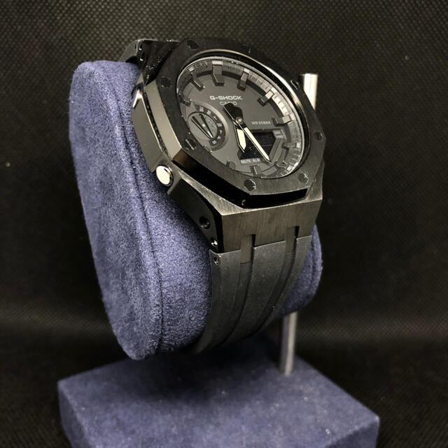 G-SHOCK(ジーショック)のGA-2100専用 ラバーベルトセット カシオーク カスタム Gショック メンズの時計(ラバーベルト)の商品写真