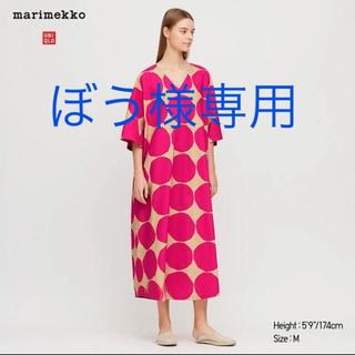 マリメッコ(marimekko)のマリメッコ×UNIQLO ワンピース(ロングワンピース/マキシワンピース)