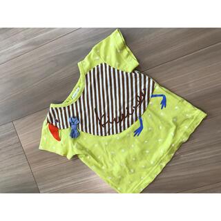 NARUMIYA INTERNATIONAL - babycheer キウイバードTシャツ80