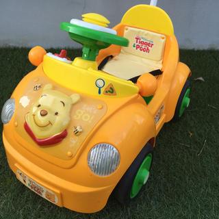 ディズニー(Disney)のプーさんといっしょブーブートッピー 美品(手押し車/カタカタ)