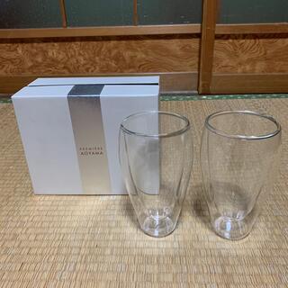 プルミエール(PREMIERE)のプルミエール アオヤマ 耐熱二層ガラス(グラス/カップ)