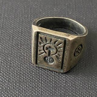 VETEMENTS リング モチーフ 希少 レア シルバー 指輪 正規品 S(リング(指輪))