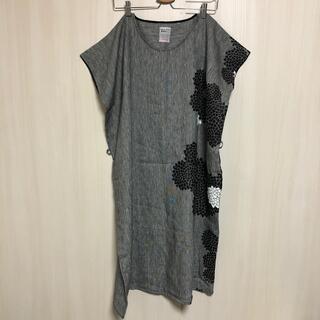 ソウソウ(SOU・SOU)のsousou 貫頭衣 リネン100%(ロングワンピース/マキシワンピース)
