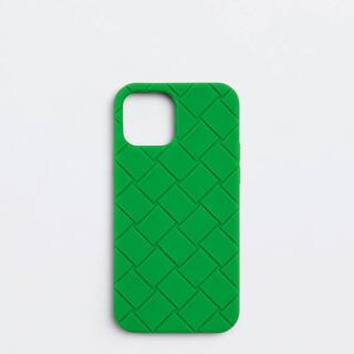 ボッテガヴェネタ(Bottega Veneta)のbottega ボッテガ IPHONE 12/12PRO ケース GREEN(iPhoneケース)
