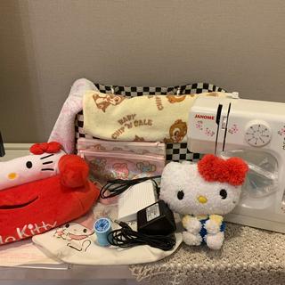 週末お値下げ♡ハローキティミシン JANOME コンパクト電動ミシン KT-35(その他)