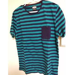 ロデオクラウンズワイドボウル(RODEO CROWNS WIDE BOWL)のロデオクラウン RCWB&co.  Tシャツ メンズL  美品(Tシャツ/カットソー(半袖/袖なし))