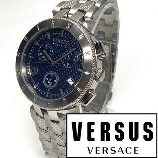 ジャンニヴェルサーチ(Gianni Versace)の★新品 美品 Versus Versace ヴェルサス ヴェルサーチ メンズ(腕時計(アナログ))