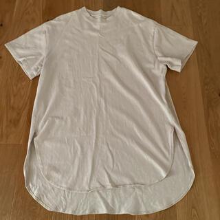 ヴィス(ViS)のベージュ ビッグT(Tシャツ(半袖/袖なし))