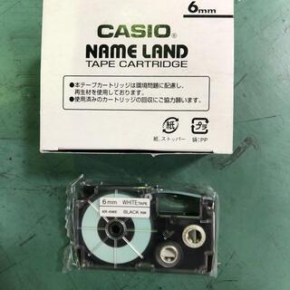 カシオ(CASIO)のCASIO name land 6mm カートリッジ5P(テープ/マスキングテープ)