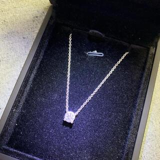デビアス(DE BEERS)のLK salon LKサロン ラボグロウン ダイヤ ネックレス 0.5ct(ネックレス)